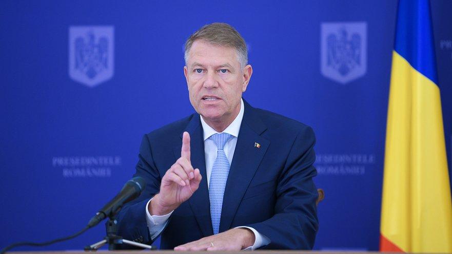 Presedintele Klaus Iohannis - presidency.ro