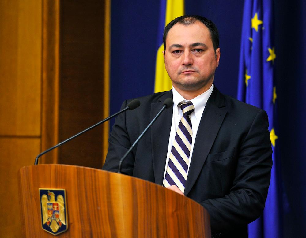 Mirel Palada, purtător de cuvânt al Guvernului - FOTO: gov.ro