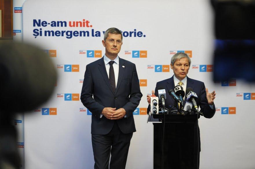 Dan Barna si Dacian Ciolos (Epoch Times România)