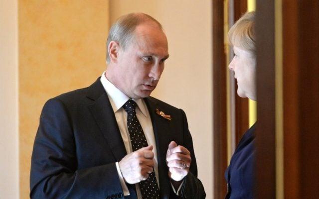 Foto: Angela Merkel și Vladimir Putin / Kremlin.ru